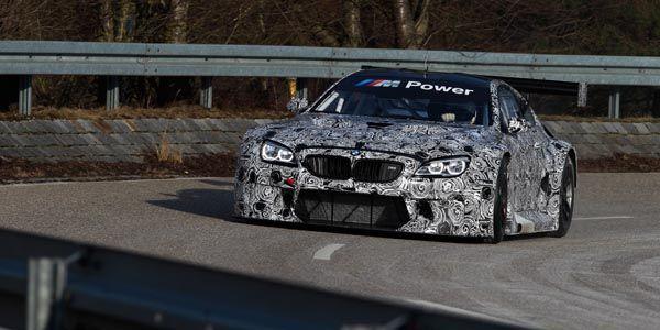 Première sortie pour la BMW M6 GT3