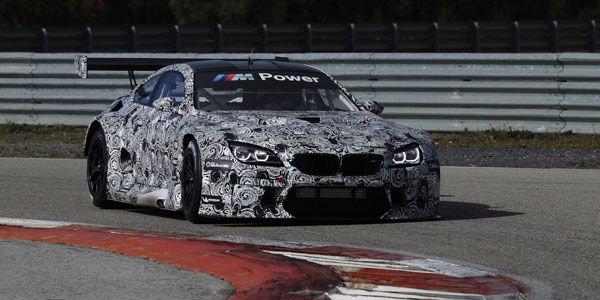 BMW M6 GT3 : nouvelles images