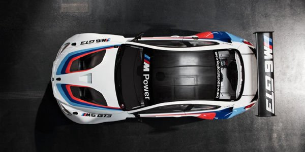 La BMW M6 GT3 en tenue d'apparat