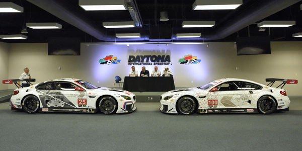 Daytona : livrée spéciale 100ème anniversaire pour BMW