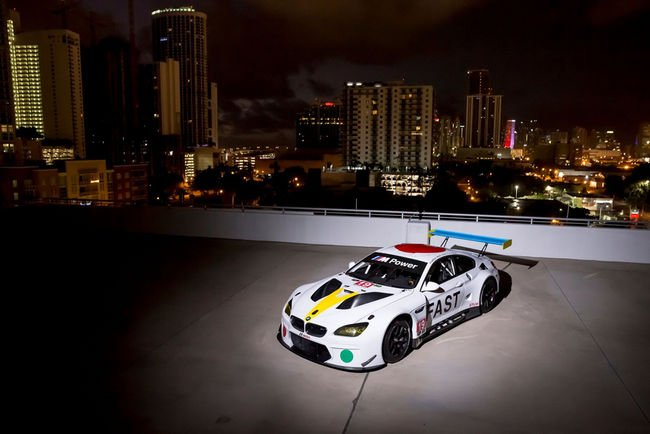 BMW M6 GTLM Art Car par John Baldessari