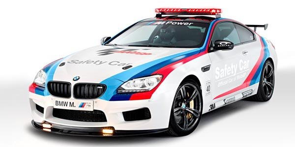 BMW M6 : Safety Car en Moto GP