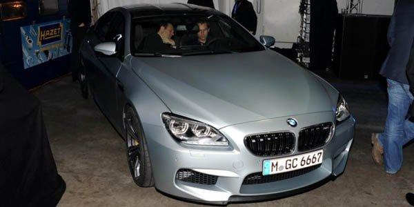 BMW dévoile la M6 Gran Coupé en privé