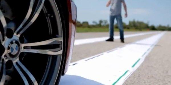 La BMW M6 laisse ses empreintes
