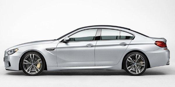 BMW M6 Gran Coupé : photos officielles