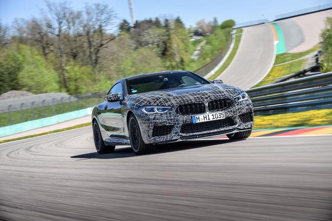 Un Mode M pour la nouvelle BMW M8