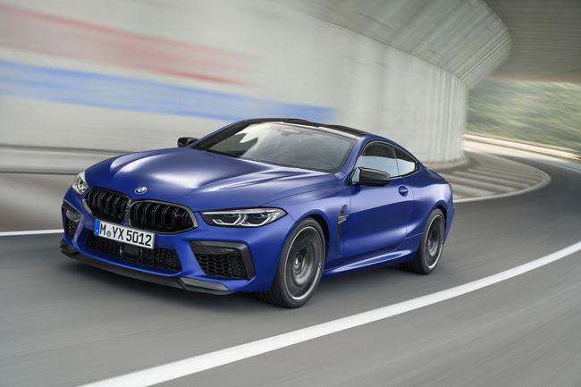 Nouvelle BMW M8 Competition, spécifications et tarifs