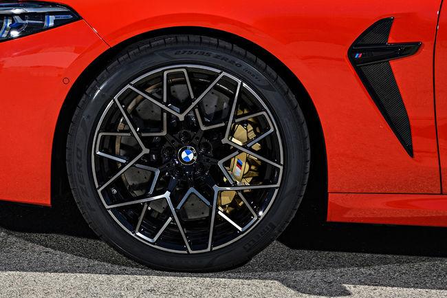 Des gommes Pirelli P Zero spécifiques pour la BMW M8