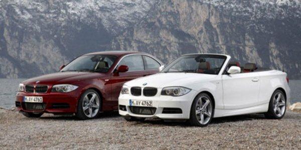 Retouches pour la BMW Série 1