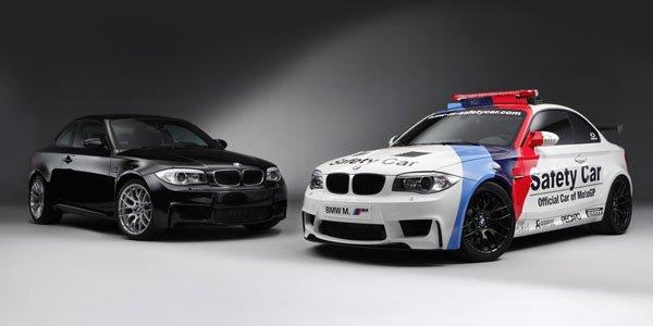 La BMW Série 1 M en Moto GP