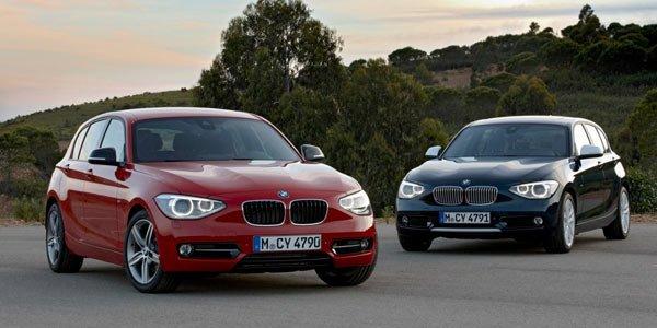 BMW Série 1 restylée, elle est là