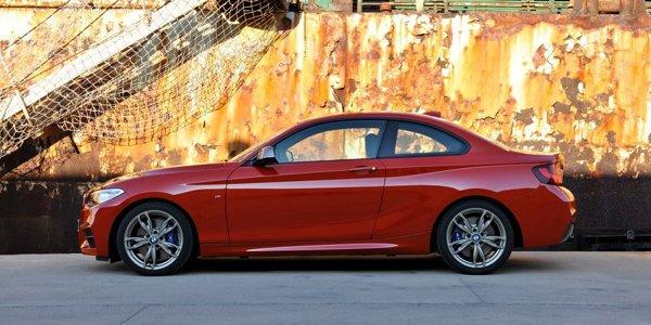 La BMW M235i pointe le bout de son nez
