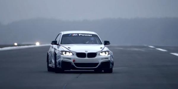 La BMW M235i Racing en vidéo