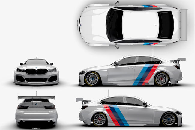 La BMW Série 3 fait son retour en BTCC