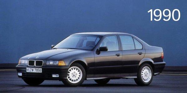 BMW retrace la lignée des Série 3