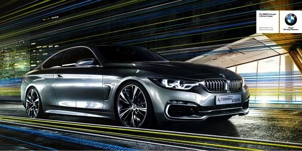 BMW Série 4 concept à Genève