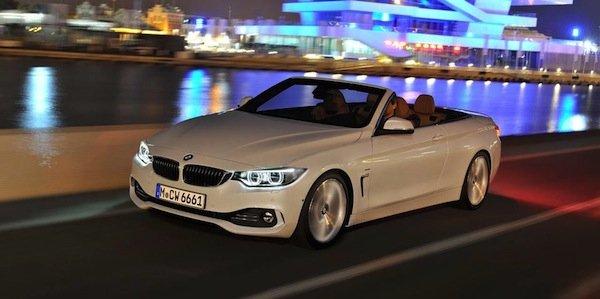 La BMW Série 4 Cabriolet se dévoile