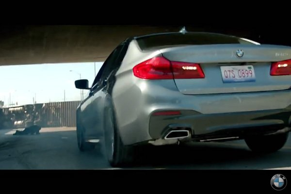 BMW Films - The Escape : la nouvelle Série 5 en vedette