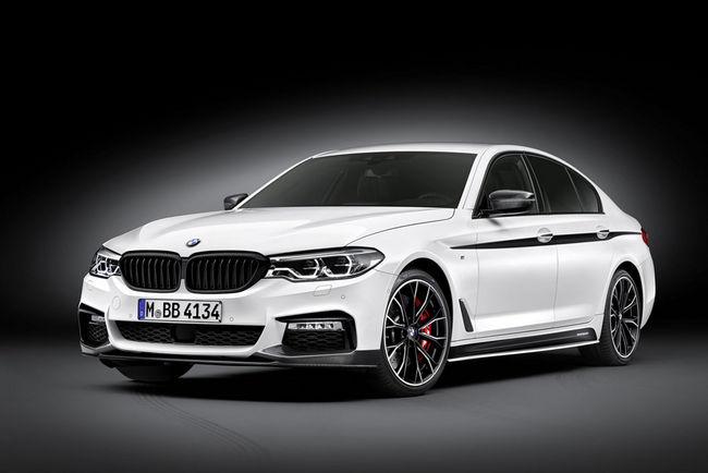 Des accessoires M Performance pour la BMW Série 5