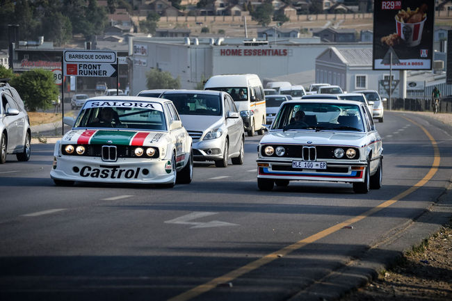 BMW : deux légendes réunies à Kyalami