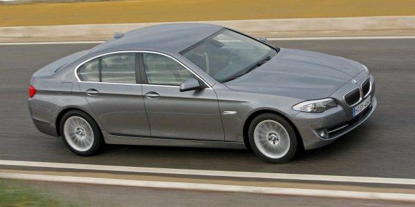 De nouveaux blocs pour la BMW Série 5