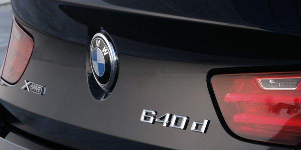 La BMW 640d adopte le xDrive