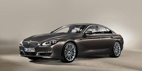 Tarifs de la BMW Série 6 Gran Coupé