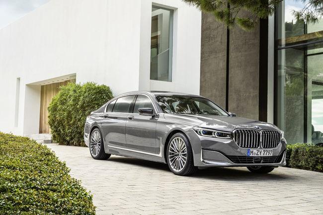 La BMW Série 7 passe au restylage