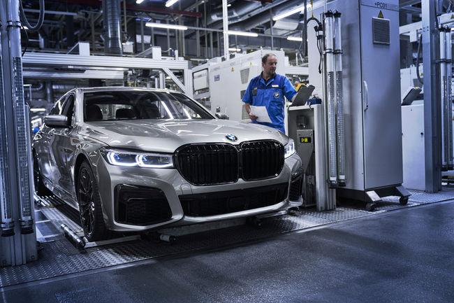 Production lancée pour la nouvelle BMW Série 7