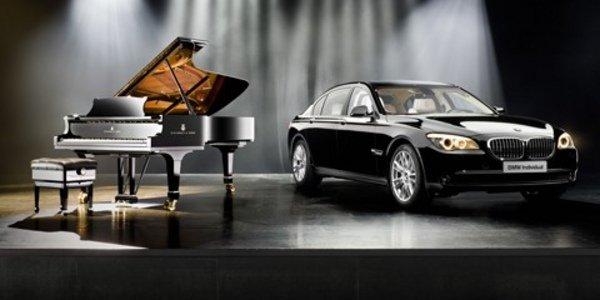 BMW Série 7 par Steinway & Sons
