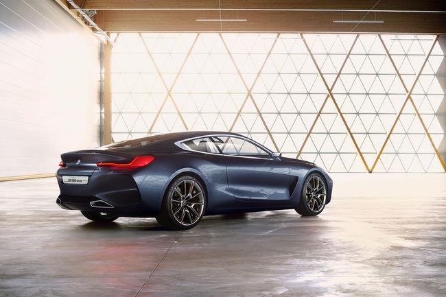 Le concept BMW Série 8 Coupé dévoilé à la Villa d'Este