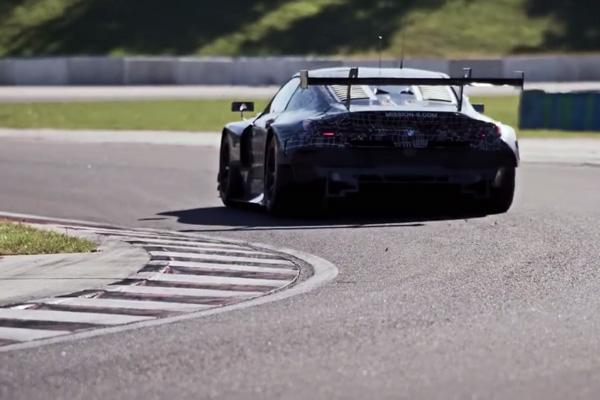 WEC : la BMW M8 GTE se montre en vidéo