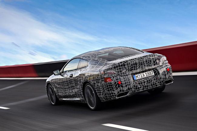 La BMW Série 8 Coupé en essais en Italie