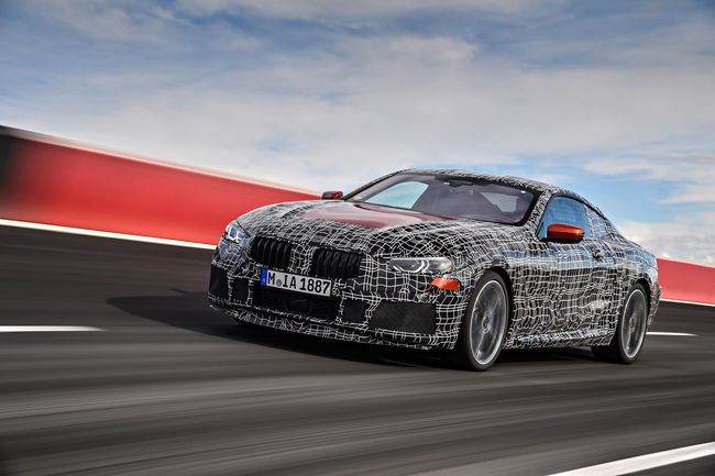 Genève : BMW tease le concept Série 8 Gran Coupé