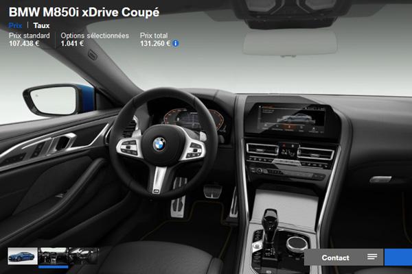 Configurez votre BMW Série 8