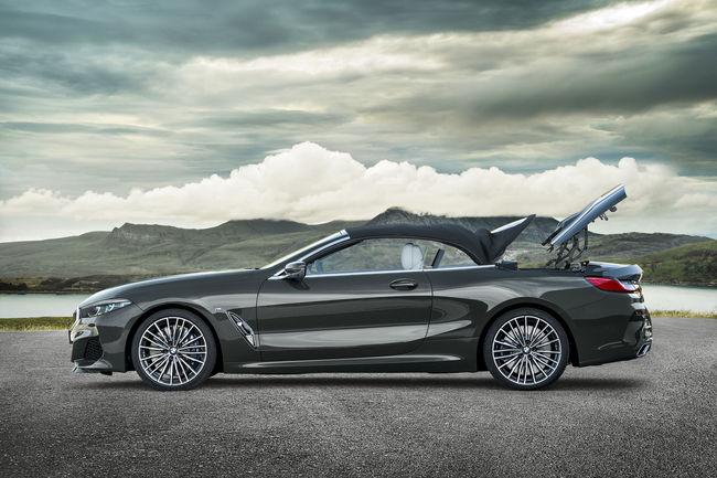 La BMW Série 8 enlève le haut