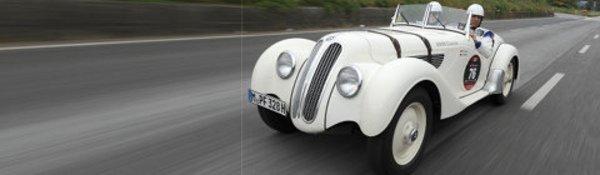 Les BMW, stars des Mille Miglia 2009