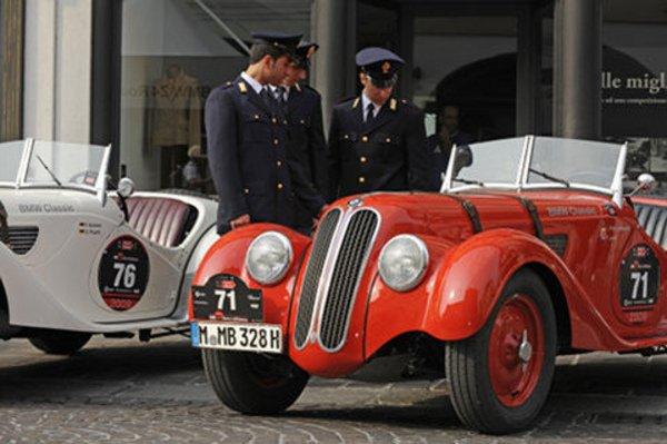 les bmw stars des mille miglia 2009 actualit automobile motorlegend