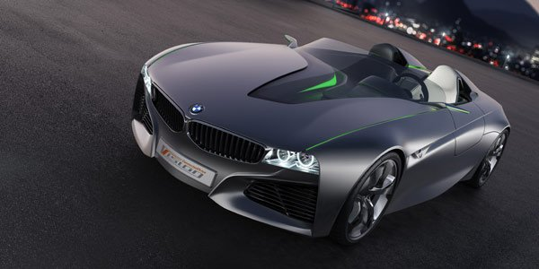 Roadster BMW Vision Connected Drive