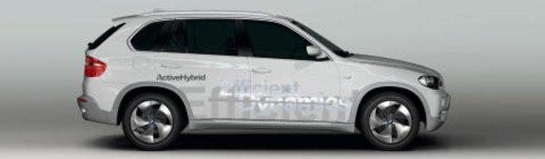 Vision EfficientDynamics : un X5 hybride