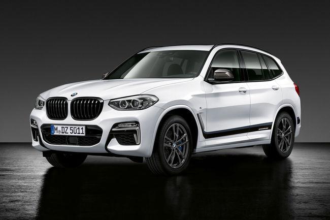 Nouvelles options BMW M Performance pour les BMW X2, X3 et x4