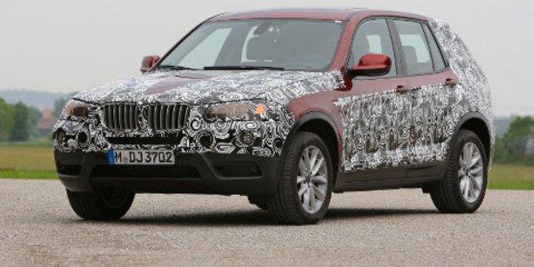 Nouveau BMW X3 attendu en novembre 2010