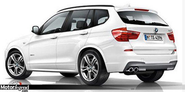 Pack M pour le BMW X3