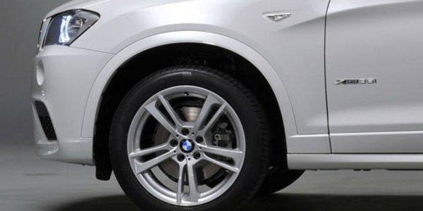 Un pack M et 2 moteurs pour le BMW X3