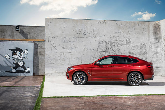 BMW X4, sport et style