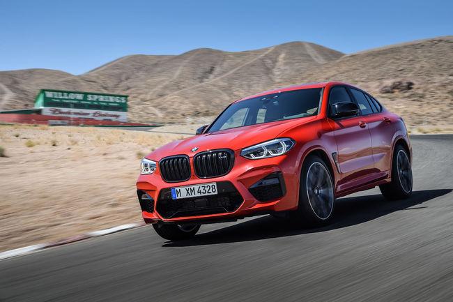 Nouveaux BMW X3 M et X4 M
