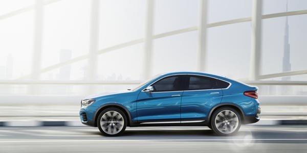 Le BMW X4 se dévoile en vidéo