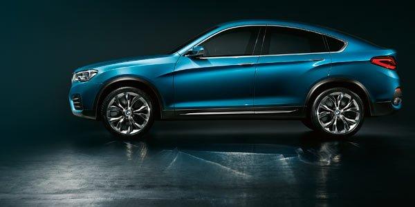 BMW Concept X4, sans surprise