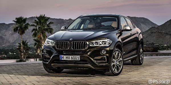 Le nouveau BMW X6 en fuite sur le net