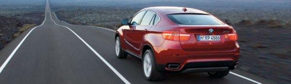 Le BMW X6 dans sa livrée définitive